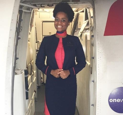 Kenia Aquino, nossa comissária voando o mundo