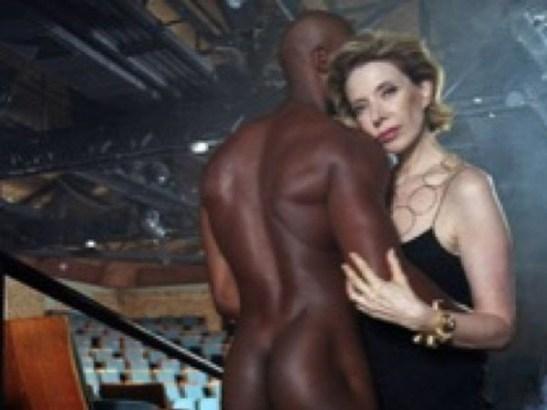 Marília Gabriela posta foto ousada - negro nu