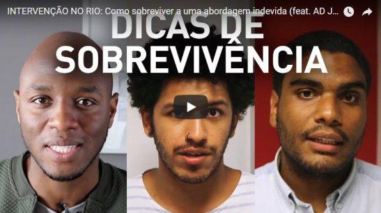 23 de fevereiro - intervenção - RJ - vídeo (foto) (2)