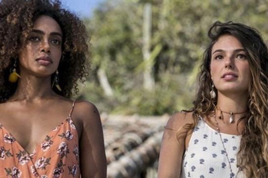 Ritinha e sua amiga Marilda em 'A Força do Querer'