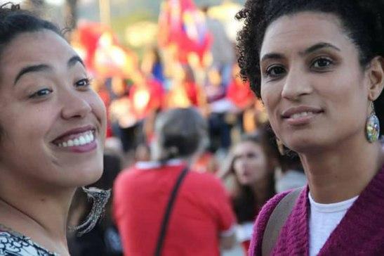 Talíria Petrone Soares e Marielle Franco