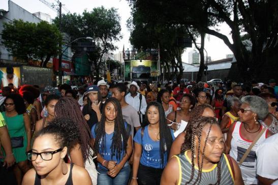 A 38ª Caminhada da Consciência Negra saiu do Campo Grande para o Pelourinho