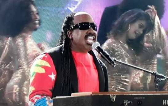 Mumuzinho foi muito elogiado pelos jurados ao interpretar Stevie Wonder