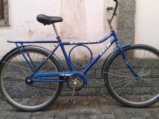 Politicizing of the affections makes itself necessary (bicycle)