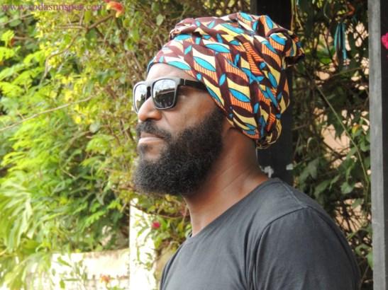 Rei Batuque - músico nascido e criado no Quilombo dos Marinhos (Foto - Tissiana Souza).