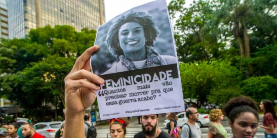 Brazilians Marking One Month Of Activist Marielle Franco's Murder