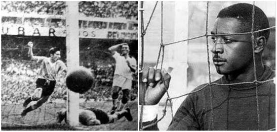 Goalkeeper Barbosa was blamed and never forgiven for Brazil_s World Cup failure in 1950.